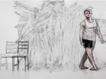 In Conversation: Nicole Kelly, Winner of the Hurford Hardwood Portrait Prize and finalists Todd Fuller and Zom Osborne